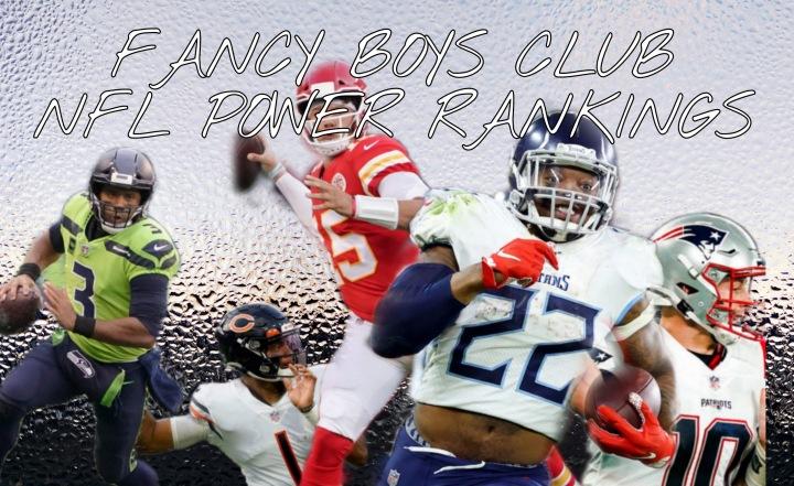 FBC NFL Power Rankings Week6